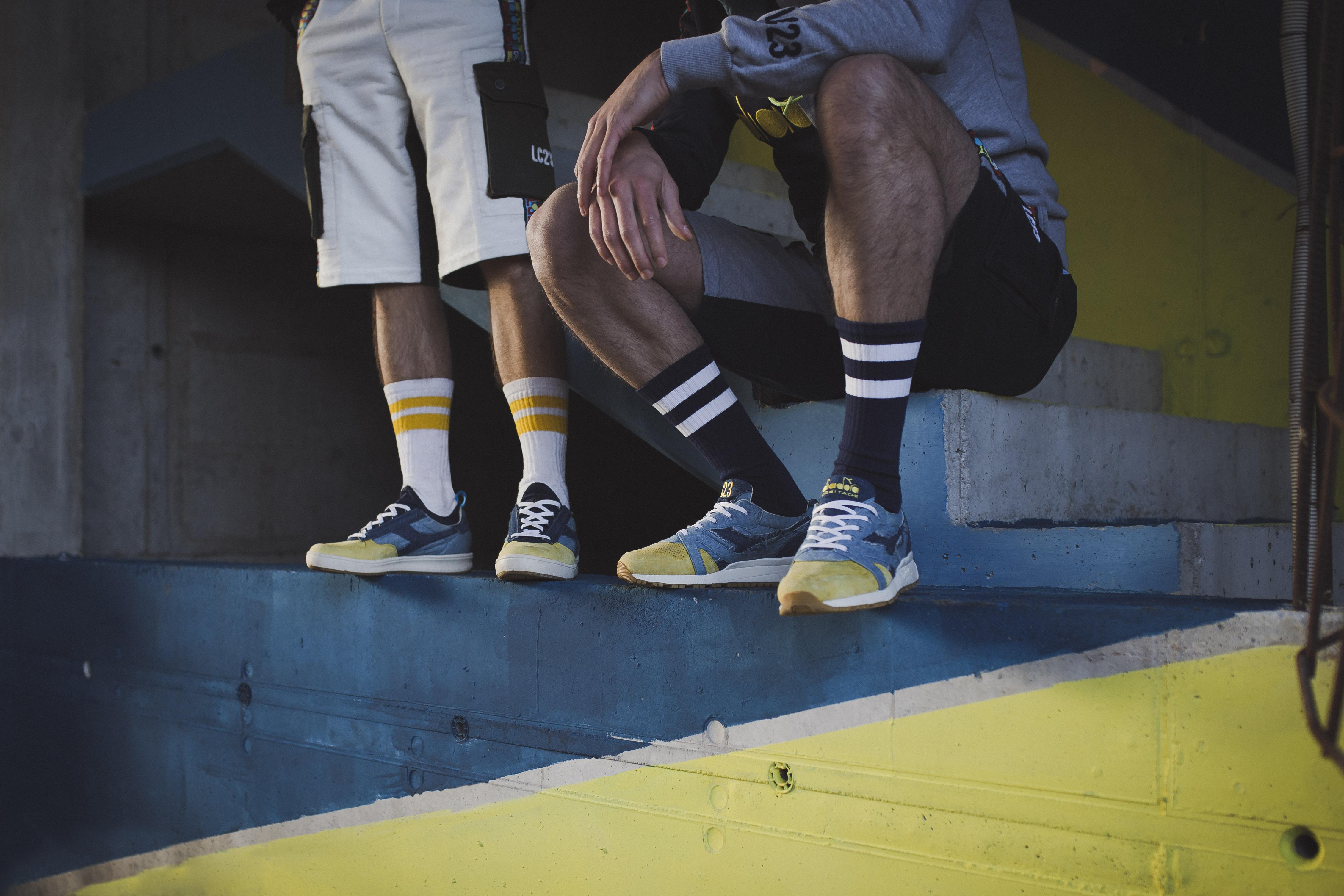 LC23 X Diadora - B.Elite Socks