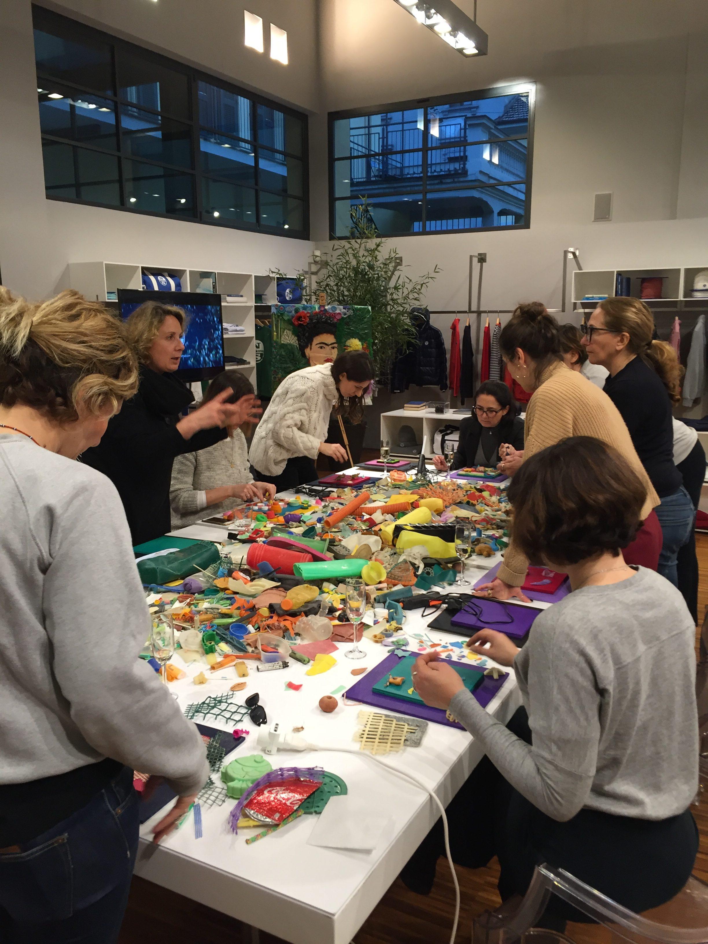 Go Beyond Plastic - North Sails - Milano - Evento