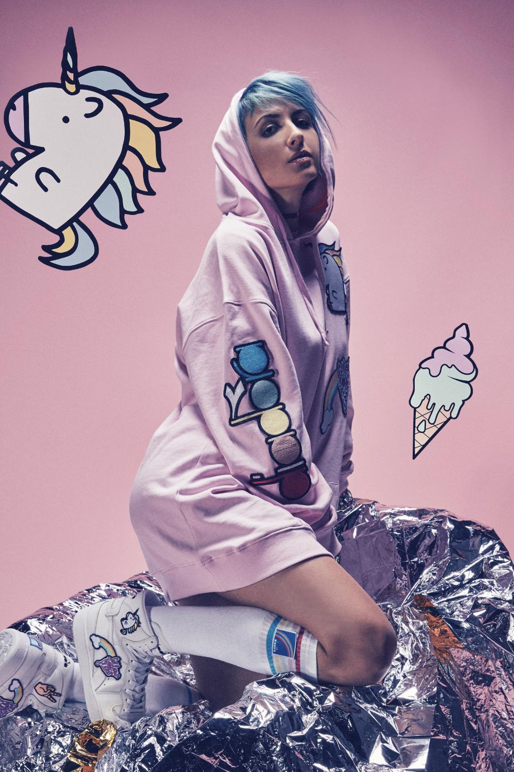Ema Stokholma - diadora unicorns