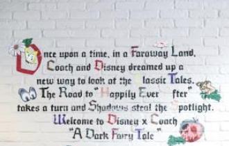 Disney x Coach: A Dark Fairy Tale