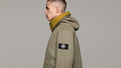 Stone Island - Man Made Suede