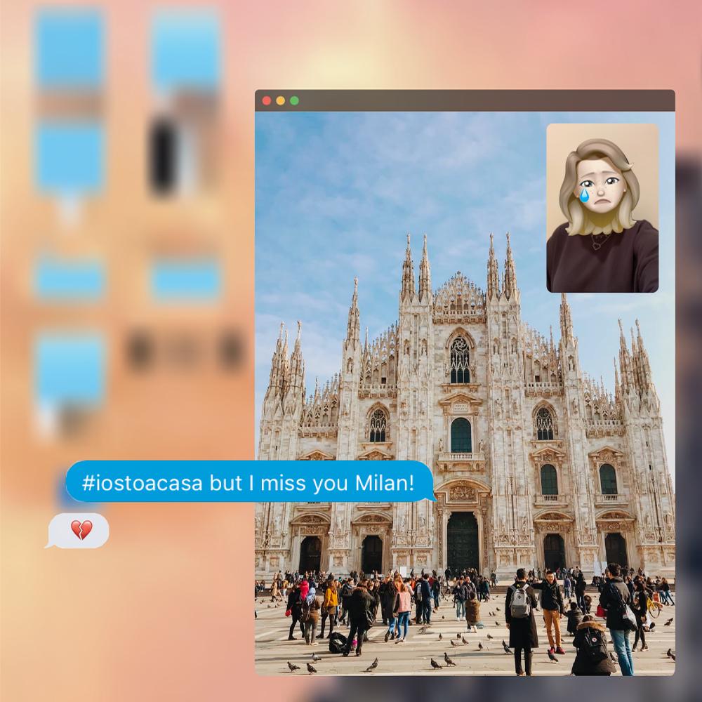 IED Milano - 40 cartoline dalla quarantena
