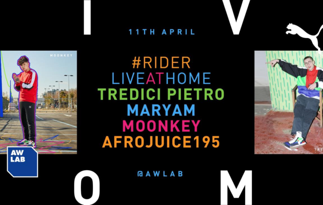 Puma + AW Lab - evento streaming