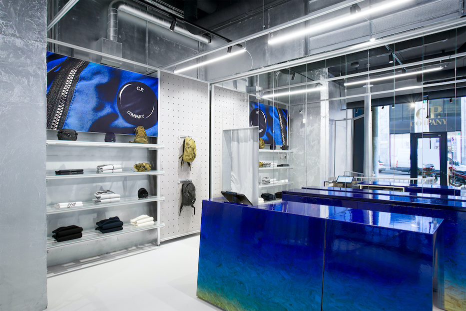 C.P. Company nuovo flagship store milano