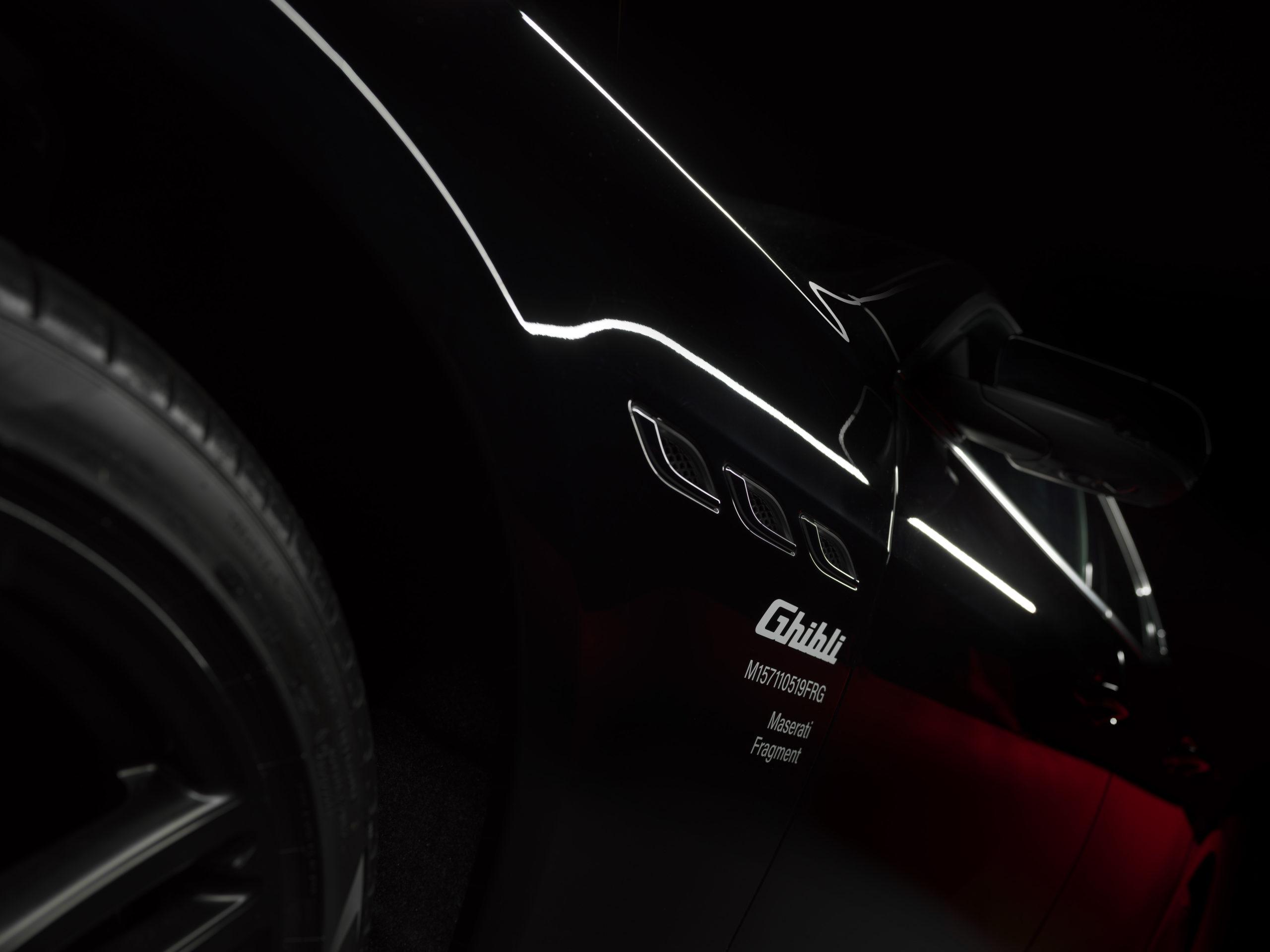 Maserati Ghibli Special Edition - Fragment - Hiroshi Fujiwara
